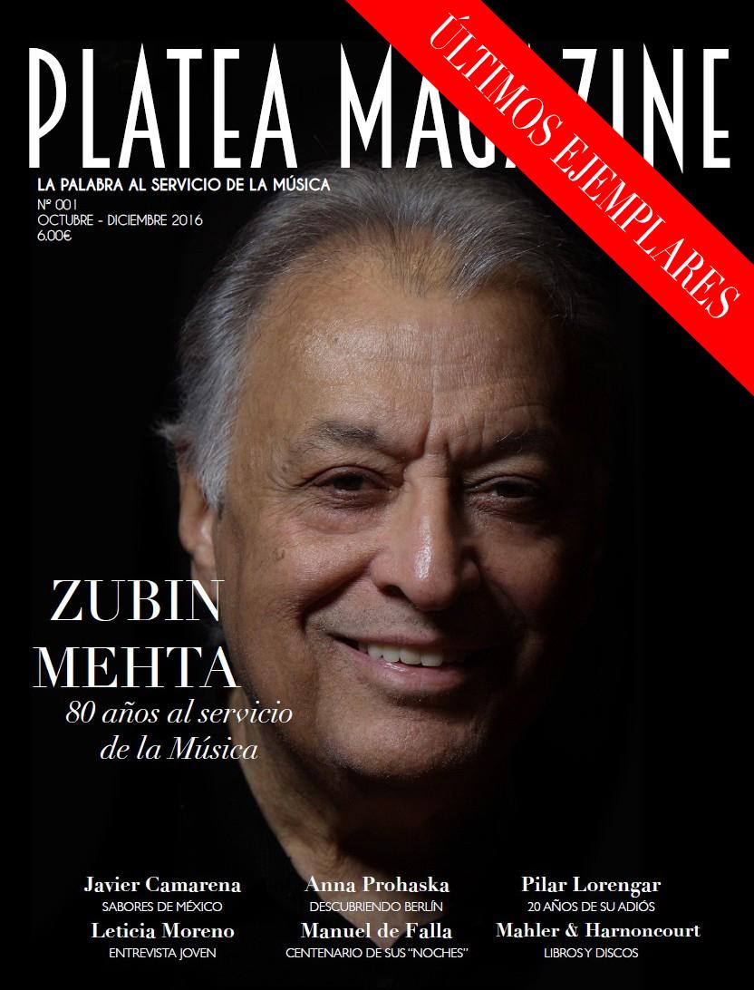 Número 001   Zubin Mehta