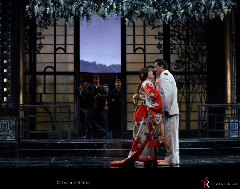 Madama butterfly javier del real