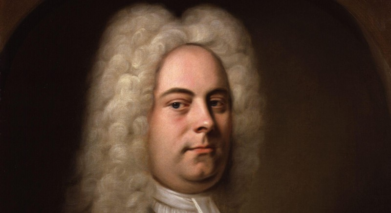 George Frideric Handel by Balthasar Denner detail
