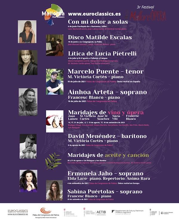 Mallorca apuesta por la lírica con la tercera edición del festival MallorcÒpera