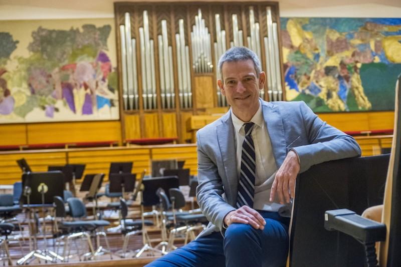 """Oriol Roch, director general de la Euskadiko Orkestra: """"Queremos posicionarnos como una orquesta sólida en el panorama europeo"""""""