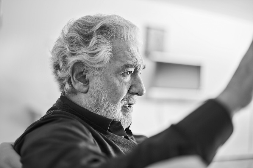 PlacidoDomingo blanco negro Novak