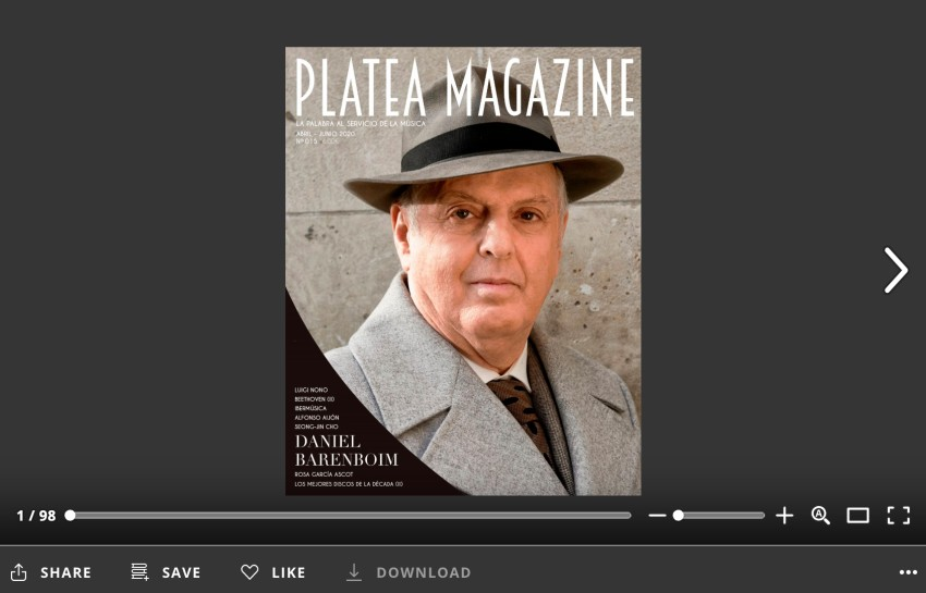 Platea abril 20 ISSUU