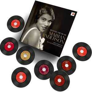 Sony reúne las grabaciones completas para RCA de Marian Anderson, en un especial de 15 CD