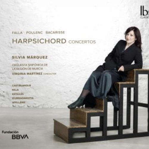 Silvia Márquez graba conciertos para clave del siglo XX, junto a la Sinfónica de Murcia