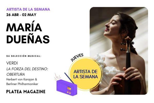 Artista de la semana: María Dueñas
