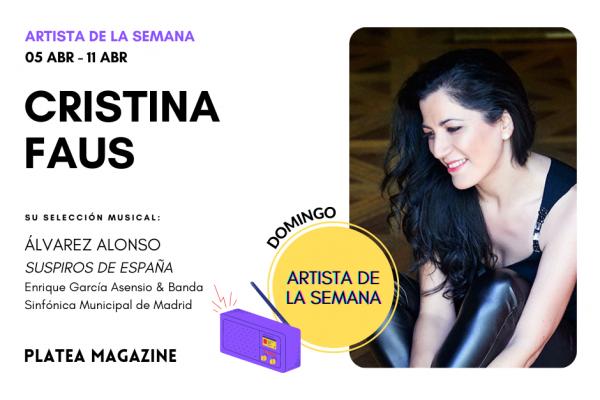 Artista de la semana: Cristina Faus