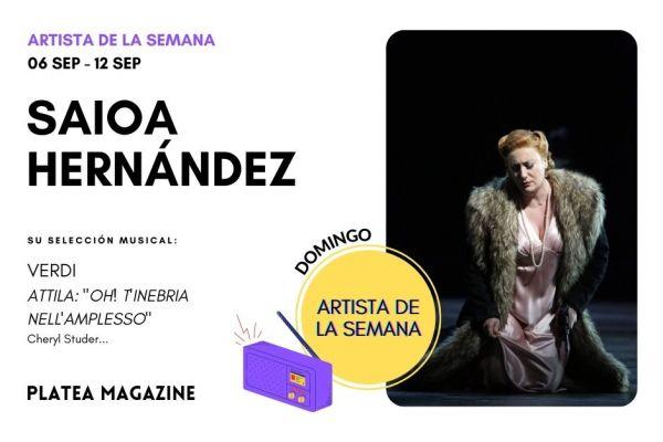 Artista de la semana: Saioa Hernández