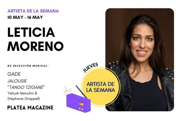 Artista de la semana: Leticia Moreno