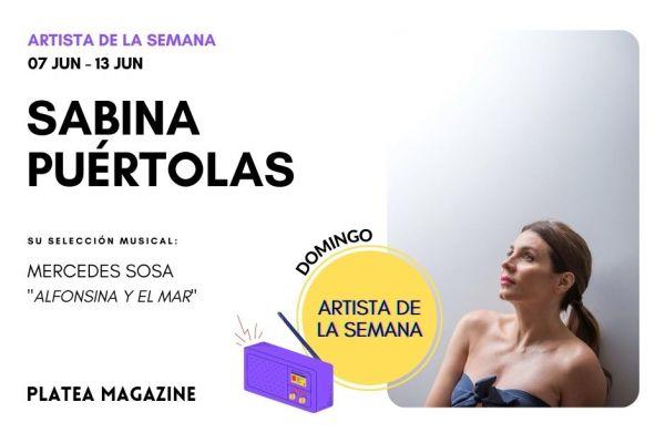 Artista de la semana: Sabina Puértolas