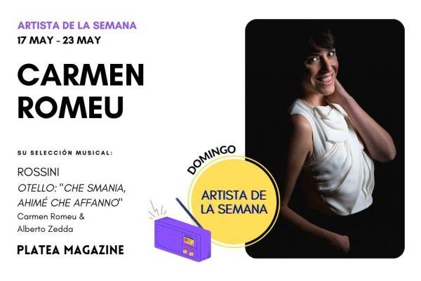 Artista de la semana: Carmen Romeu