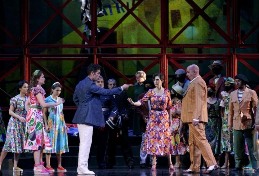 """El Teatro de la Zarzuela sube a escena """"Los gavilanes"""" con Rodríguez, Montiel, Jordi y Monzó"""