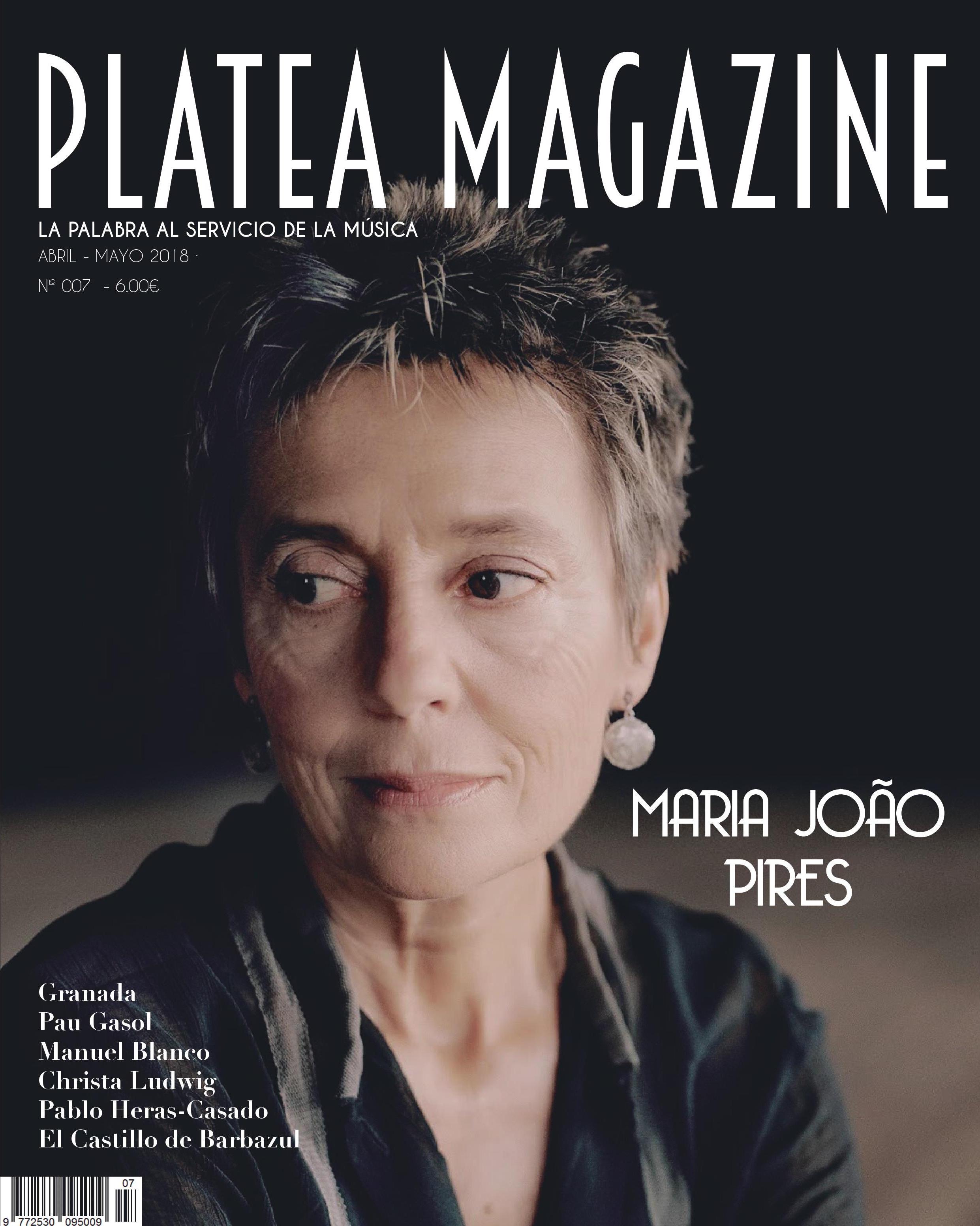 Número 007 | Maria João Pires