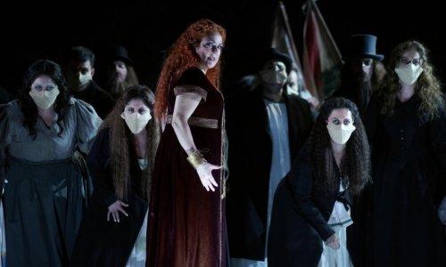 """Yolanda Auyanet protagoniza """"Norma"""" en el Teatro Real, junto a Clémentine Margaine y Michael Spyres"""