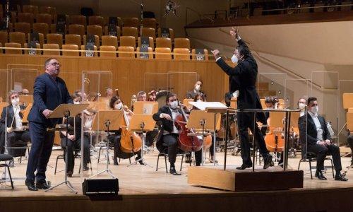 Piotr Beczala y Matthias Goerne protagonizan 'La canción de la tierra' con la Orquesta Nacional de España y David Afkham