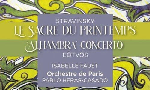 Pablo Heras-Casado graba 'La consagración de la primavera' con la Orquesta de París