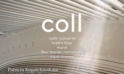Gustavo Gimeno y Patricia Kopatchinskaja graban obras de Francisco Coll en Pentatone