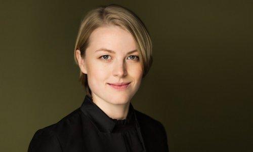 La directora Ruth Reinhardt, esta semana al frente de la OBC con obras de Miller, Mozart y Berio