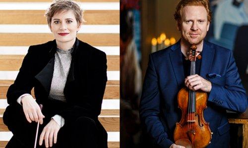 Daniel Hope y Anja Bihlmaier, con Weinberg y Schumann junto a la OBC