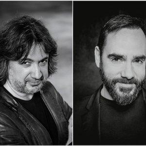 David Alegret y Rubén Fernández Aguirre rinden homenaje a Josep Carner en el Life Victoria