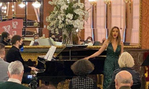 La soprano Rocío Pérez canta Obradors en el Teatro de la Zarzuela