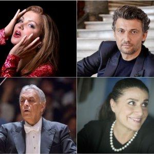 Anna Netrebko y Jonas Kaufmann protagonizan 'Tosca' en Salzburgo, junto a Zubin Mehta y Cecilia Bartoli