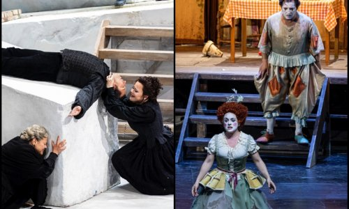 """Jorge de León y Ruth iniesta protagonizan """"Pagliacci"""" y """"Cavalleria rusticana"""" en Les Arts"""