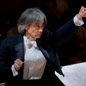 Kent Nagano y Pierre-Laurent Aimard, juntos con la Orquesta Nacional de España