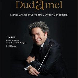 Gustavo Dudamel, con la Mahler Chamber Orchestra y el Orfeón Donostiarra, para conmemorar el 800 aniversario de la Catedral de Burgos