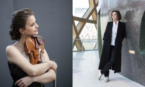 Veronika Eberle y Laurence Equilbey, con Mozart y Farrenc junto a la OBC