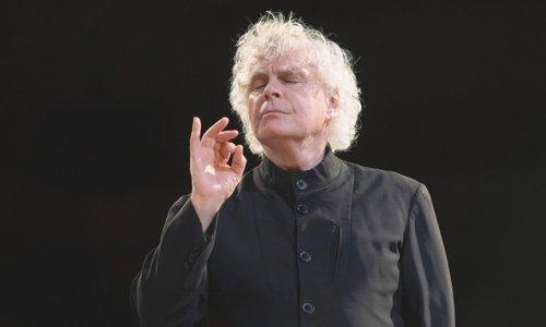 Simon Rattle dirige Mahler y Strauss con la London Symphony en Aix-en-Provence
