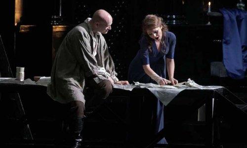 Maria Agresta y Michael Fabiano protagonizan 'Tosca' en el Teatro Real de Madrid