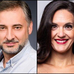 """Alejandro Roy y Vanessa Goikoetxea protagonizan """"Pagliacci"""" en A Coruña"""