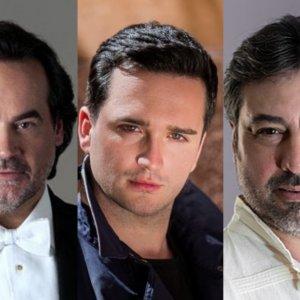 José Bros, Antonio Gandía y Xabier Anduaga, juntos en Oviedo con una gala lírica