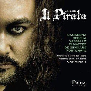 """Javier Camarena y Marina Rebeka graban """"Il pirata"""" de Bellini en un nuevo álbum"""