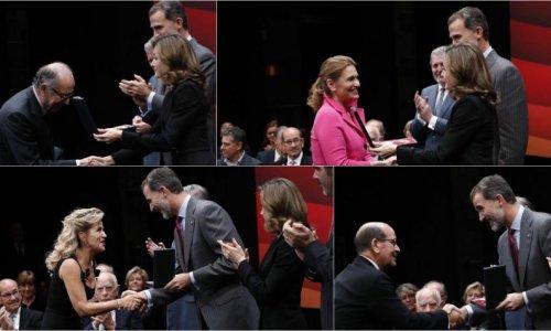 Casares, Mutter, Arteta, Nucci recogen las Medallas de Oro en Bellas Artes
