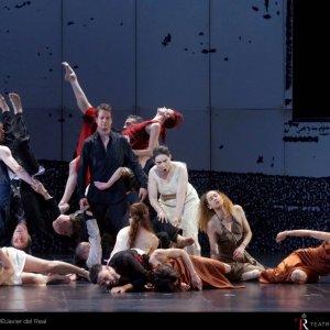 """Sasha Waltz ofrece su visión sobre """"Dido & Aeneas"""" de Purcell en el Teatro Real"""